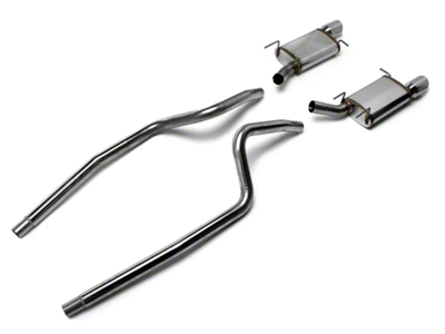 Magnaflow Street Catback Exhaust - 4 in. Tips (13-14 V6)