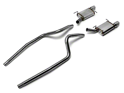 Magnaflow Street Catback Exhaust - 4in Tips (13-14 V6)