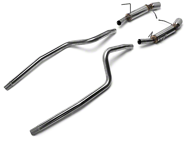Magnaflow Competition Cat-Back Exhaust - 4 in. Tips (13-14 V6)