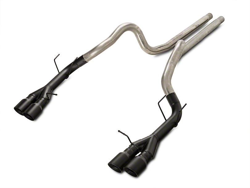 Magnaflow Competition Catback Exhaust w/ Black Quad Tips (13-14 GT500)