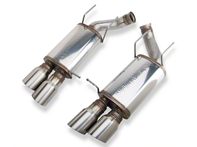 Magnaflow Street Axle-back Exhaust w/ Quad Tips (13-14 GT500)