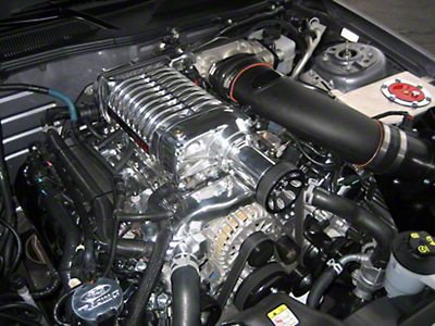 Whipple 624HP Supercharger Kit - Polished (11-12 GT Manual)