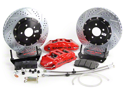 Baer Extreme Plus Front Brake Kit - Red (05-14 All)