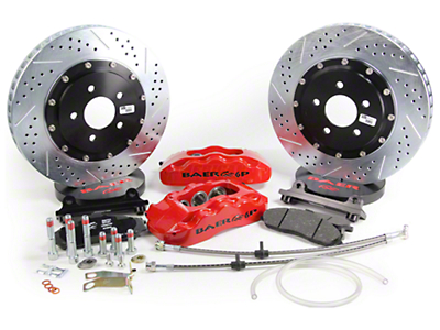 Baer Pro Plus Front Brake Kit - Red (05-14 All)