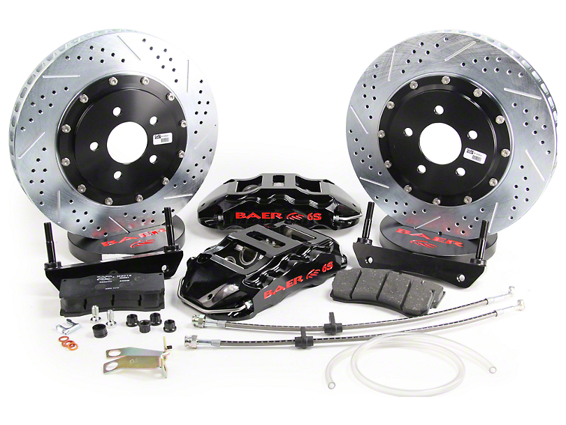 Baer Extreme Plus Front Brake Kit - Black (05-14 All)