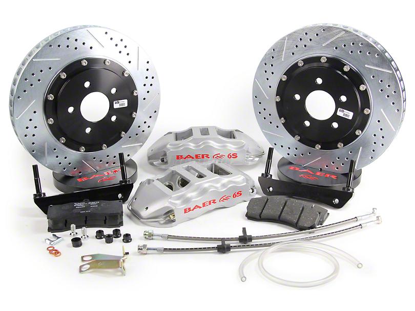 Baer Extreme Plus Front Brake Kit - Silver (05-14 All)