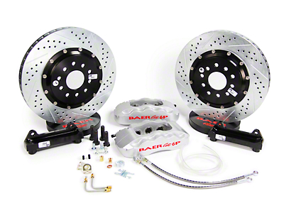 Baer Pro Plus Front Brake Kit - Silver (05-14 All)