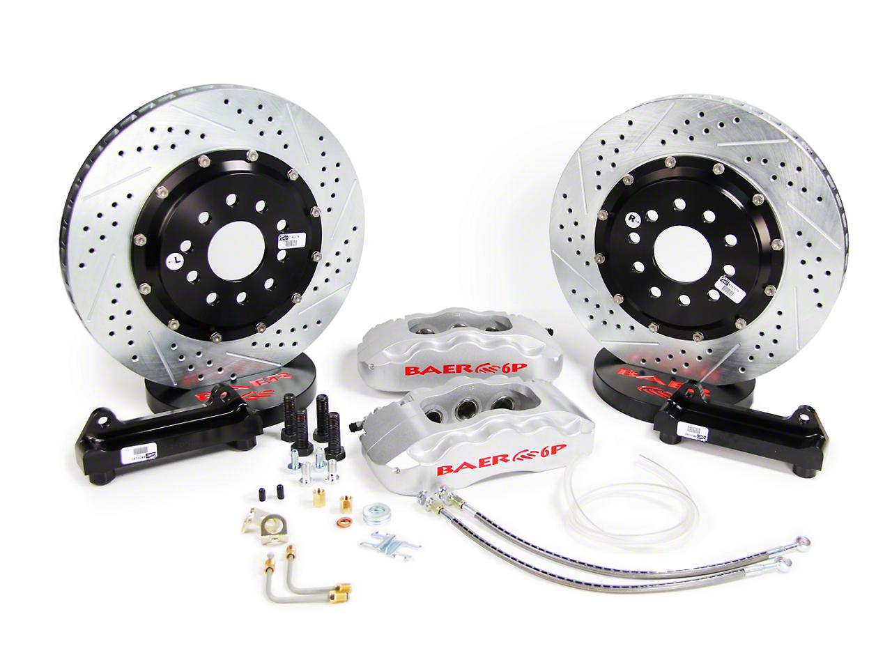 Baer Pro Plus Front Brake Kit - Silver (05-14 All)