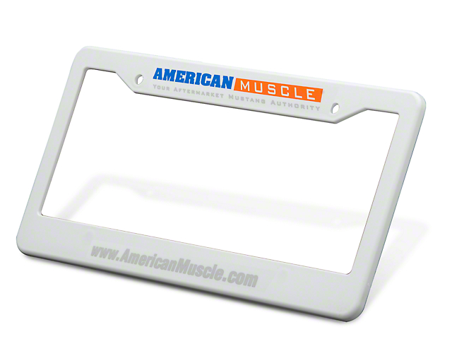 AmericanMuscle License Plate Frame
