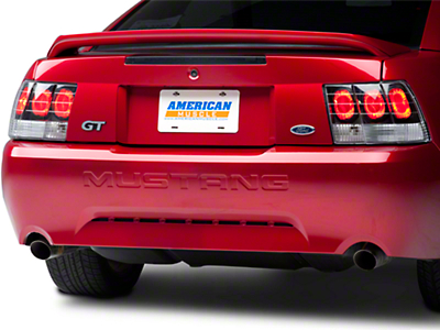 Black Euro Tail Lights (99-04 GT, V6, Mach 1)