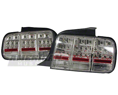 Chrome Mustang LED Taillight (2005+)