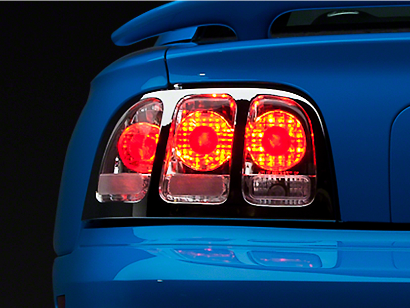 Axial Chrome Euro Tail Lights (96-98 All)