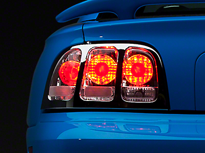 Chrome Euro Tail Lights (96-98 All)