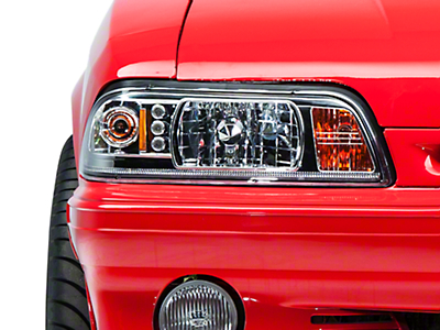 Chrome One-Piece Headlights (87-93 All)