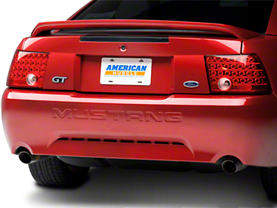 Red Solid LED Tail Lights (99-04 GT, V6, Mach 1)
