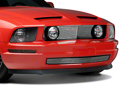 Black GT Style Grille w/ Angel Eye Fog Lights (05-09 V6)