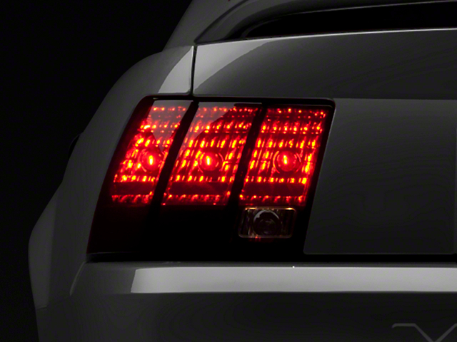 Raxiom Smoked Tail Lights (99-04 V6, GT, Bullitt, Mach 1 & 03-04 Cobra; Excludes 99-01 Cobra)