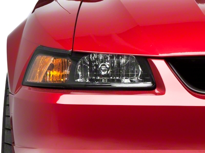 Black Stock Replacement Headlights (99-04 All)