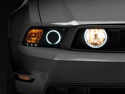 Add Raxiom Smoked Halo Fog Lights (Only Fits 05-09 GT)