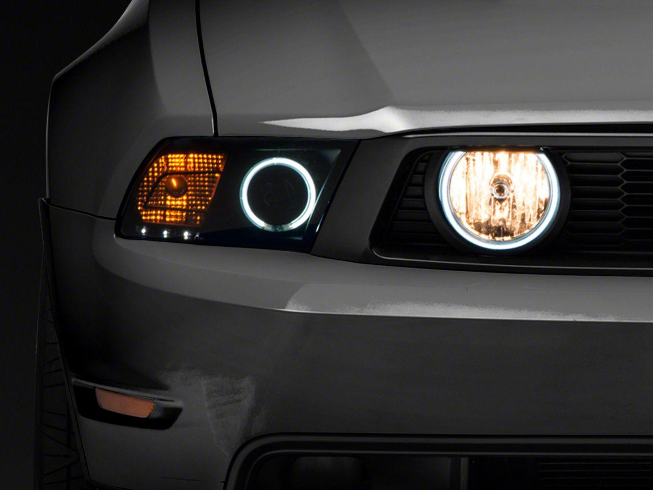 Add Raxiom Smoked Halo Fog Lights (05-12 GT)