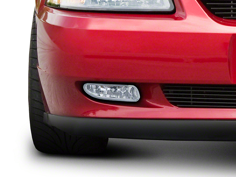 Chrome Fog Lights - Pair (99-04 GT, V6, Mach 1)