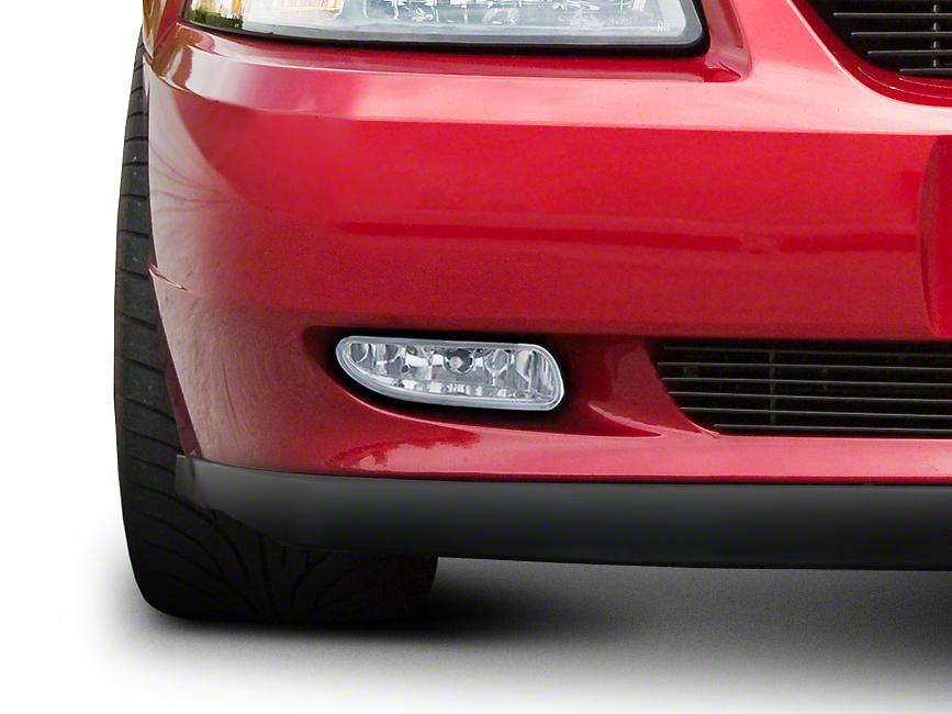 Chrome Fog Lights - Pair (99-04 GT, V6, Mach 1)