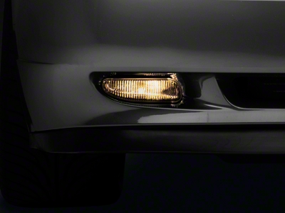 Raxiom Smoked Fog Lights - Pair (99-04 GT, V6, Mach 1)