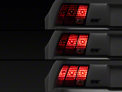 Raxiom Sequential Tail Light Kit - Plug-in (96-04 All; Excludes 99-01 Cobra)