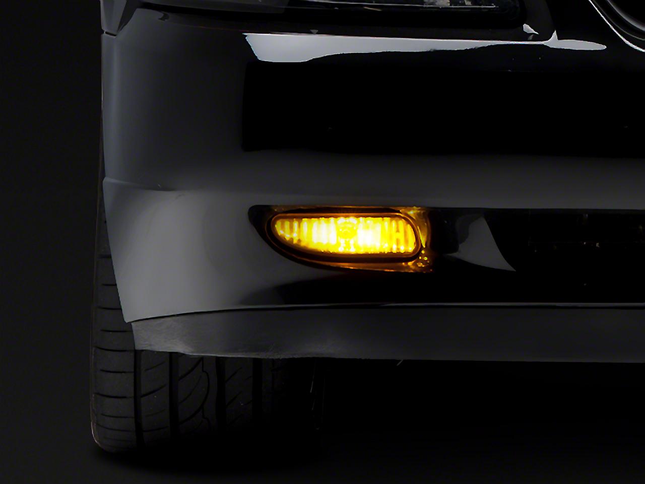 Raxiom Yellow Fog Lights - Pair (99-04 GT, V6, Mach 1)