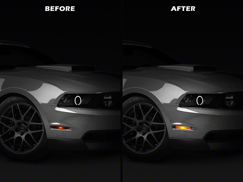Raxiom Front & Rear Side Marker Light LED Conversion Kit (10-14 All)