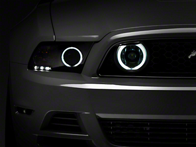 Raxiom Chrome Fog Lights - CCFL Halo (13-14 GT)