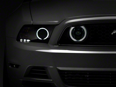 Raxiom Smoked Fog Lights - CCFL Halo (13-14 GT)