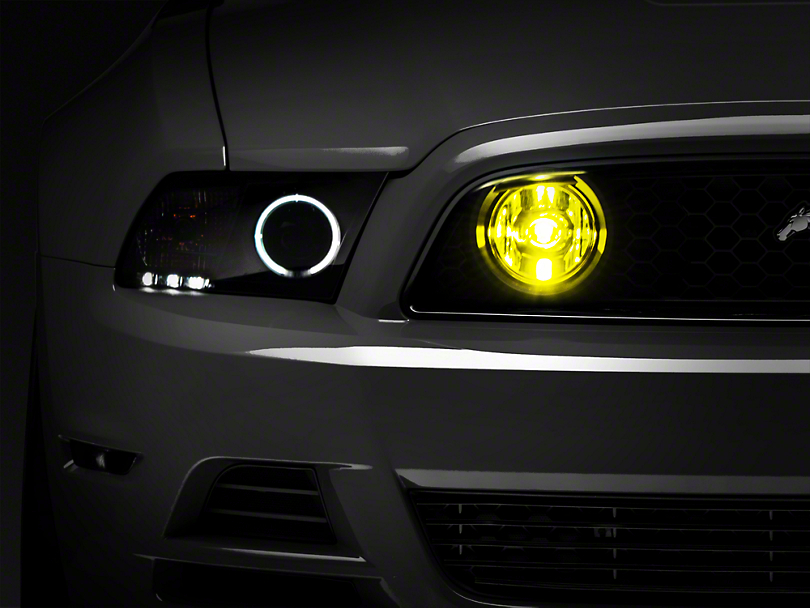 Raxiom Yellow Mustang Fog Lights 49179 13 14 Gt Free