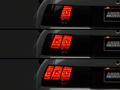 Raxiom LED Sequential Tail Light Kit - Plug-and-Play (96-04 All; Excludes 99-01 Cobra)