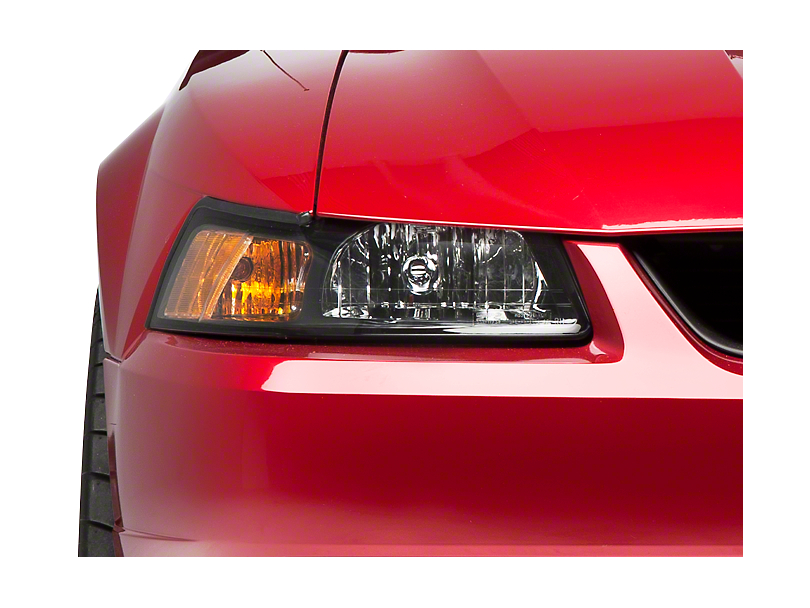 Black Stock Replacement Headlight - Right Side (99-04 All)