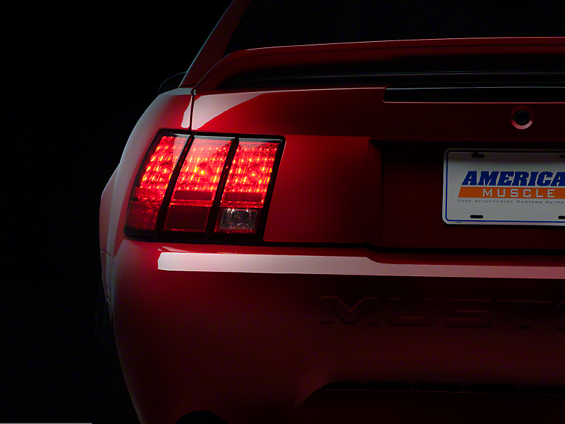 Stock Replacement Tail Light - Left Side (99-04 V6, GT, Bullitt, Mach 1 & 03-04 Cobra; Excludes 99-01 Cobra)