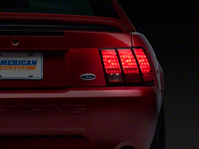 Stock Replacement Tail Light - Right Side (99-04 V6, GT, Bullitt, Mach 1 & 03-04 Cobra; Excludes 99-01 Cobra)