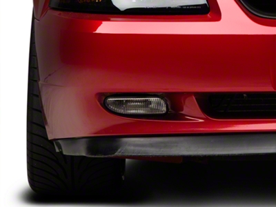 Replacement Fog Light w/ Bracket - Right Side (99-04 GT, V6, Mach 1)