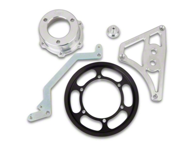 Metco Motorsports Crank Pulley Kit - 4lb Boost (03-04 Cobra)