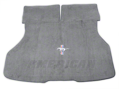 Replacement Hatch Carpet - Titanium Gray w/ Pony Logo (87-93 All)