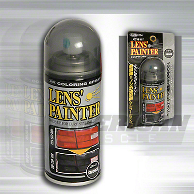 Spray-on Smoked Color Lens Paint