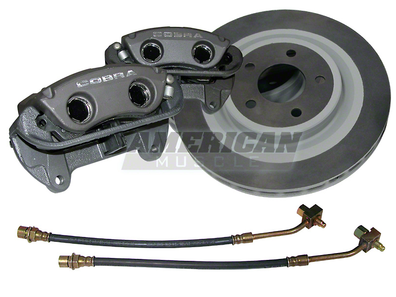 Ford Performance Black Cobra Brake Upgrade Kit (Front Only)