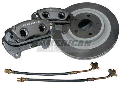 Ford Racing Black Cobra Brake Upgrade Kit (Front Only)
