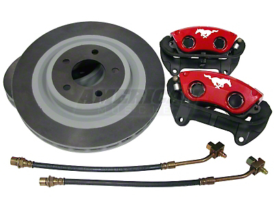 Ford Racing Red Mach 1 Brake Upgrade Kit (Front Only)