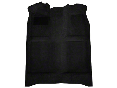 Replacement Floor Carpet - Coupe/Hatchback - Black (82-93 All)