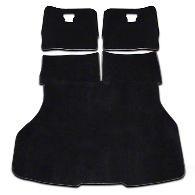 Replacement Hatch Carpet - Black (87-93 All)