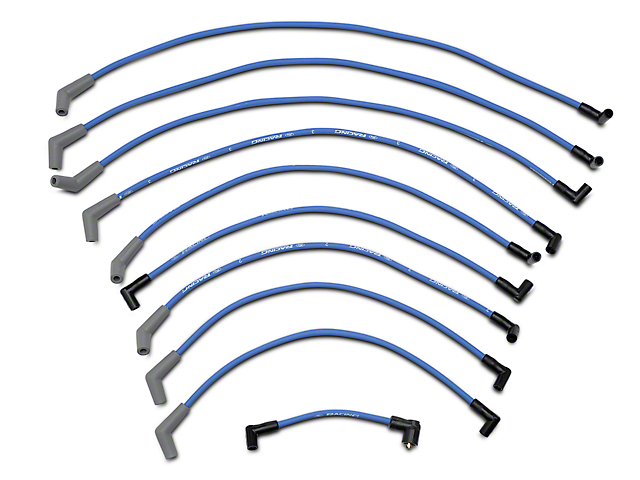 Ford Racing High Performance 9mm Spark Plug Wires - Blue (79-95 5.0L)
