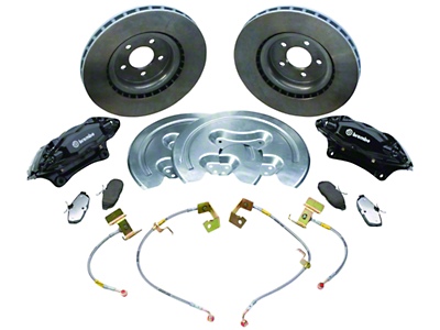 Ford Racing SVT Front Brake Upgrade Kit (05-14 GT, V6)