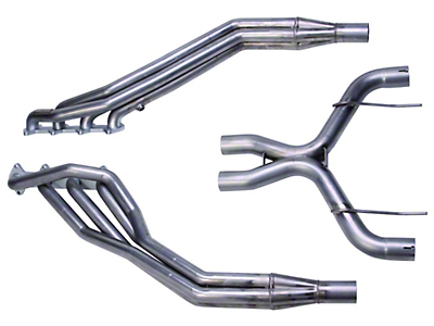 Ford Racing Long Tube Header and Off-Road X-Pipe Combo (05-10 GT)