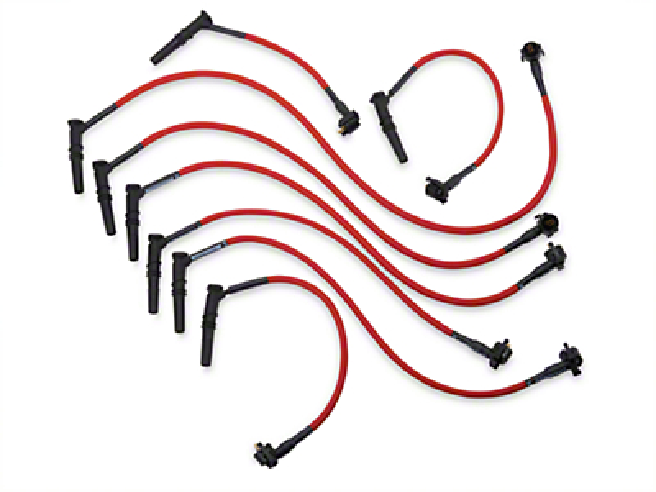 Performance Distributors Livewires 10mm Spark Plug Wires - Red (96-98 GT)